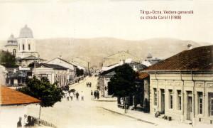 20 TO Vedere generala cu Str Carol 1908 90x60 cm
