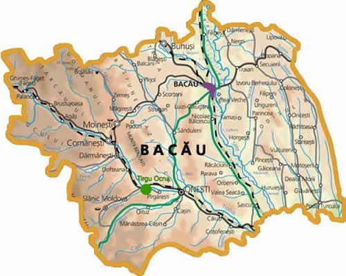Căi De Acces Si Legătura Cu Alte Orase Cnipt Targu Ocna